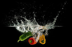 Wash Fruits and Vegetables Thoroughly