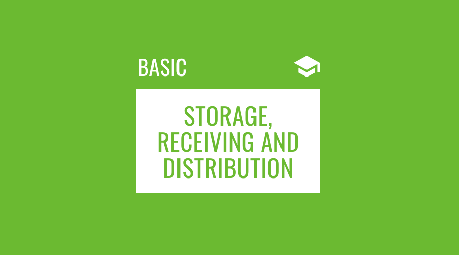 Good Storage, Receiving and Distribut