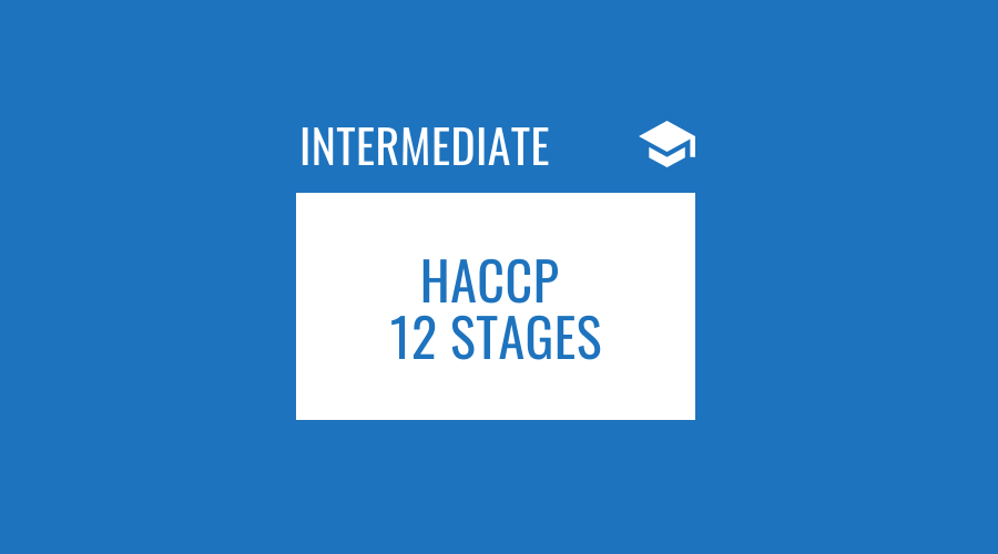 HACCP the 12 Stages