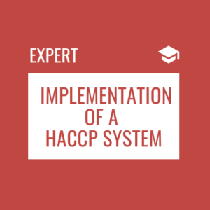 Implementation of a HACCP system