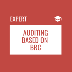 Internal and Supplier Auditing based on BRC