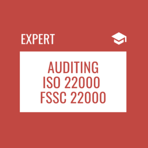 Internal and Supplier Auditing based on ISO 22000 or FSSC 22000