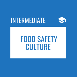 Food Safety Culture Course